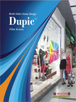 Mocom Dupic Catalog - double sided projection screen
