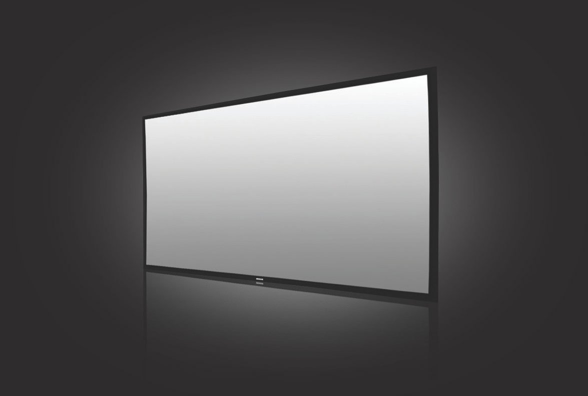 solstice deluxe hd 3d projection screen