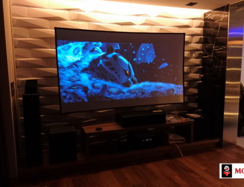 "Mocom ALR Screen ""Solstice"" in Home theater"