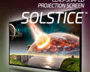 """projection screen """"solstice"""""""