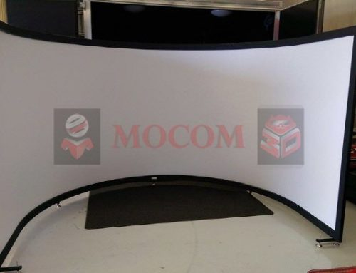 Mocom Custom Simulation Curved Projection Screen
