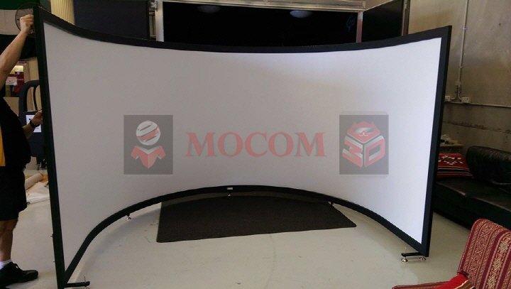 projection screen high gain, mocom solstice screen