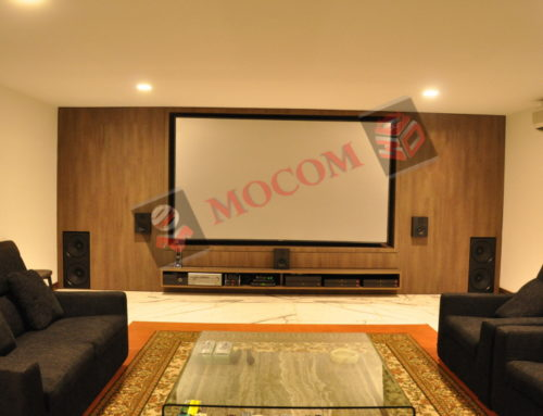 "Mocom ""Solstice"" in Home theater (Singapore)"