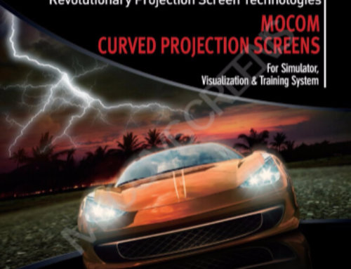 Mocom Curved Projection Screen for Simulation Catalogue