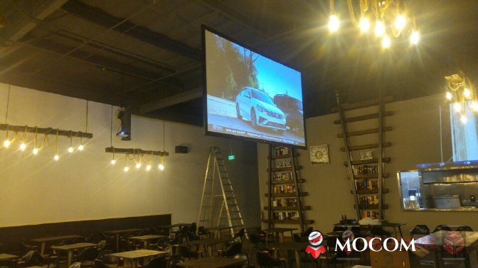 projection screen, film screen, double sided screen