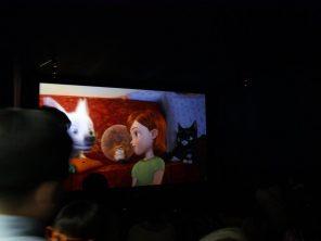 Mocom 3D Silver Screen for LG 3D festival
