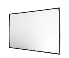 Projection Screen, Projector screen, ALR projection screen, high gain screen, lens-shaped projection screen Solstice, church projection screen, home theater projection screen